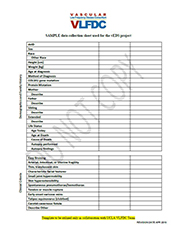 Sample Data Collection Sheet