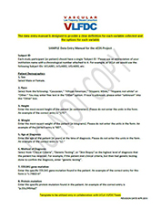 Sample Data Entry Manual