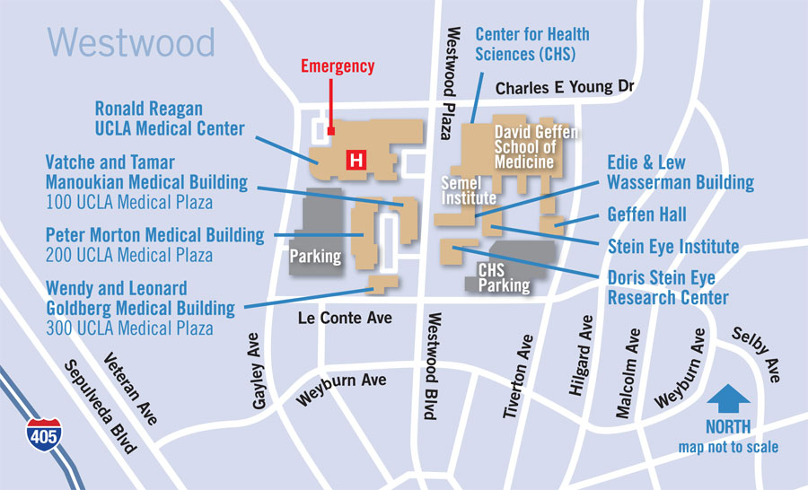 Map And Directions Ucla Bariatric Surgery Los Angeles Ca