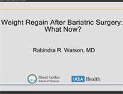 Weight Regain After Bariatric Surgery: What Now?