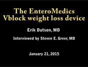 The Entero Medics Vblock Weight Loss Device